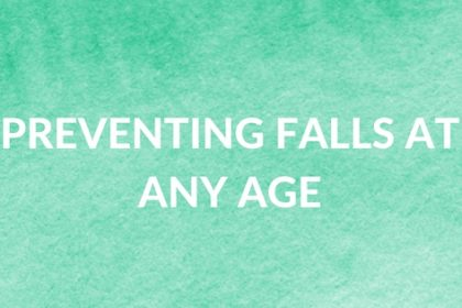 lean how to prevent falls at any age