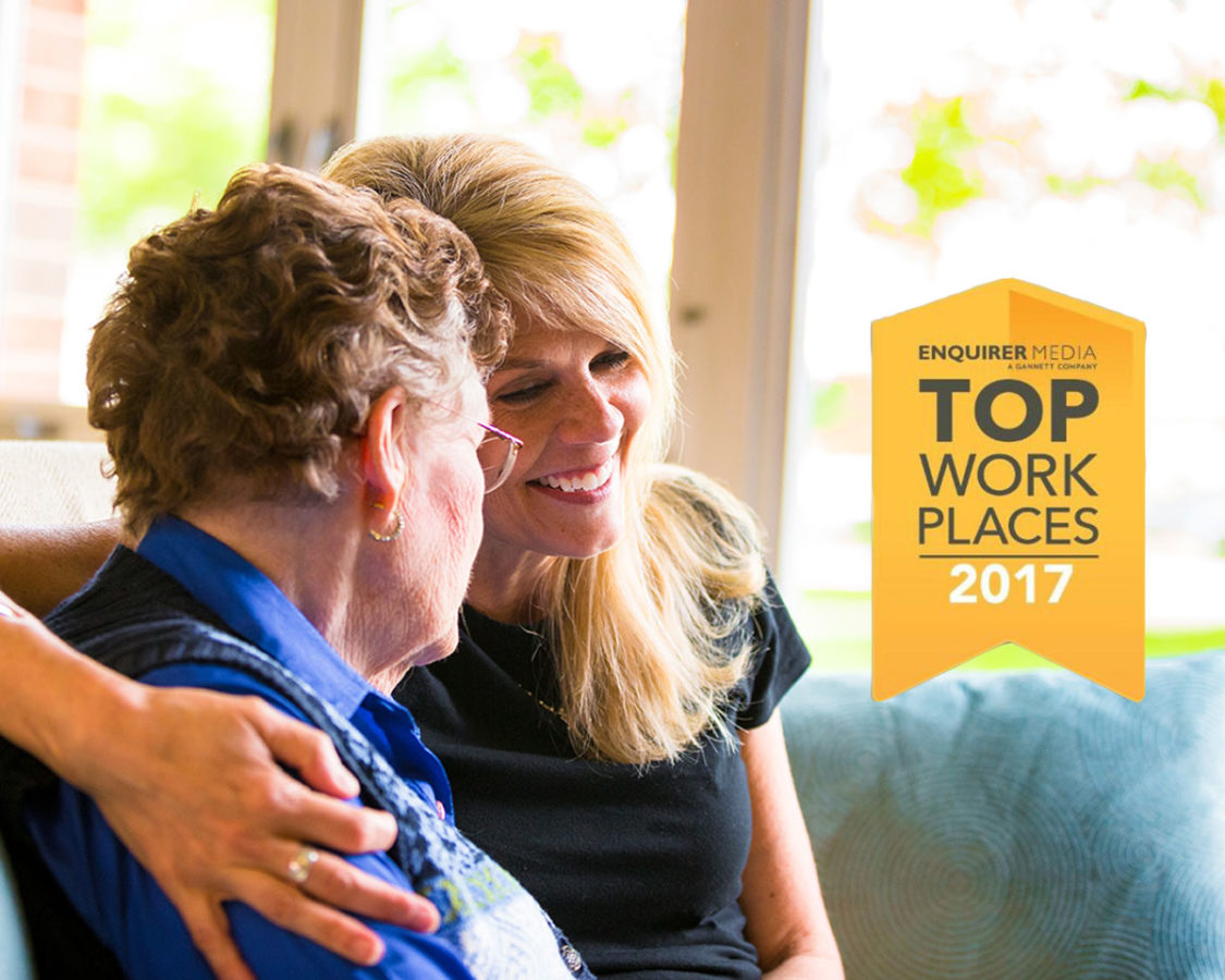 Voted Top Workplace for a Second Time