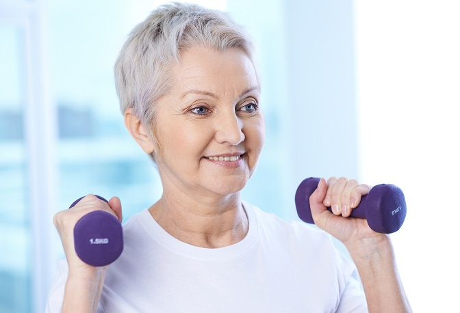 how seniors can stay active in the winter