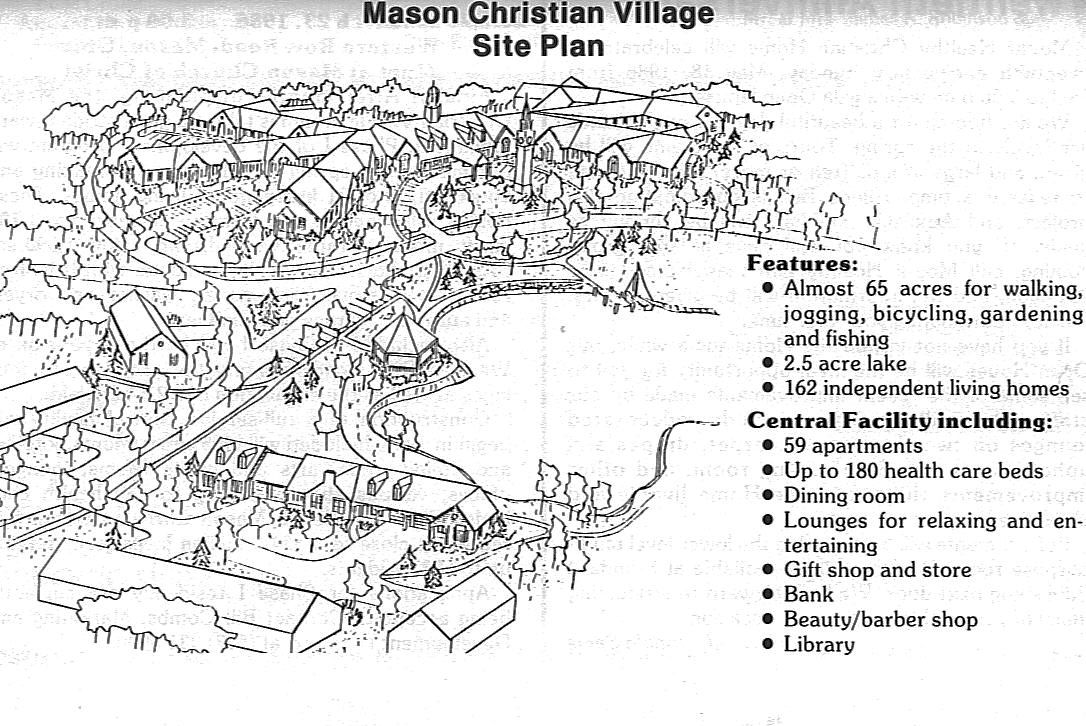 Plans for The Christian Village at Mason