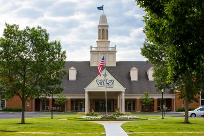The Christian Village at Mason recently received the LeadingAge Employer of Choice award.