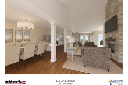 The Christian Village at Mason is introducing a large, premium floor plan called the Manor Home.