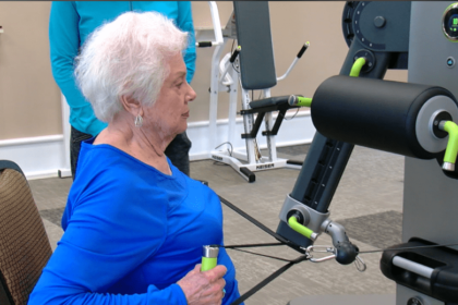 The Christian Village at Mason is proud to offer Access Strength to give all residents equal acess to physical activity.
