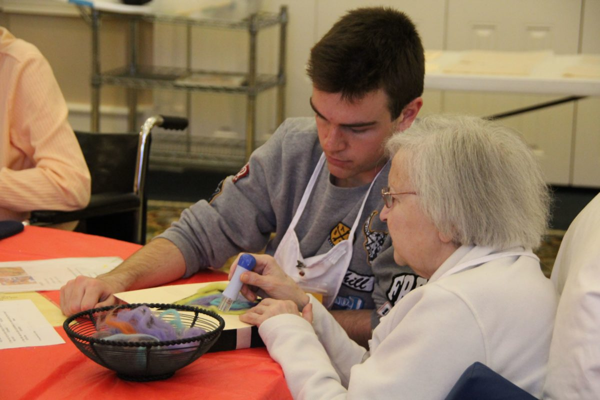 OMA is art program for people with dementia