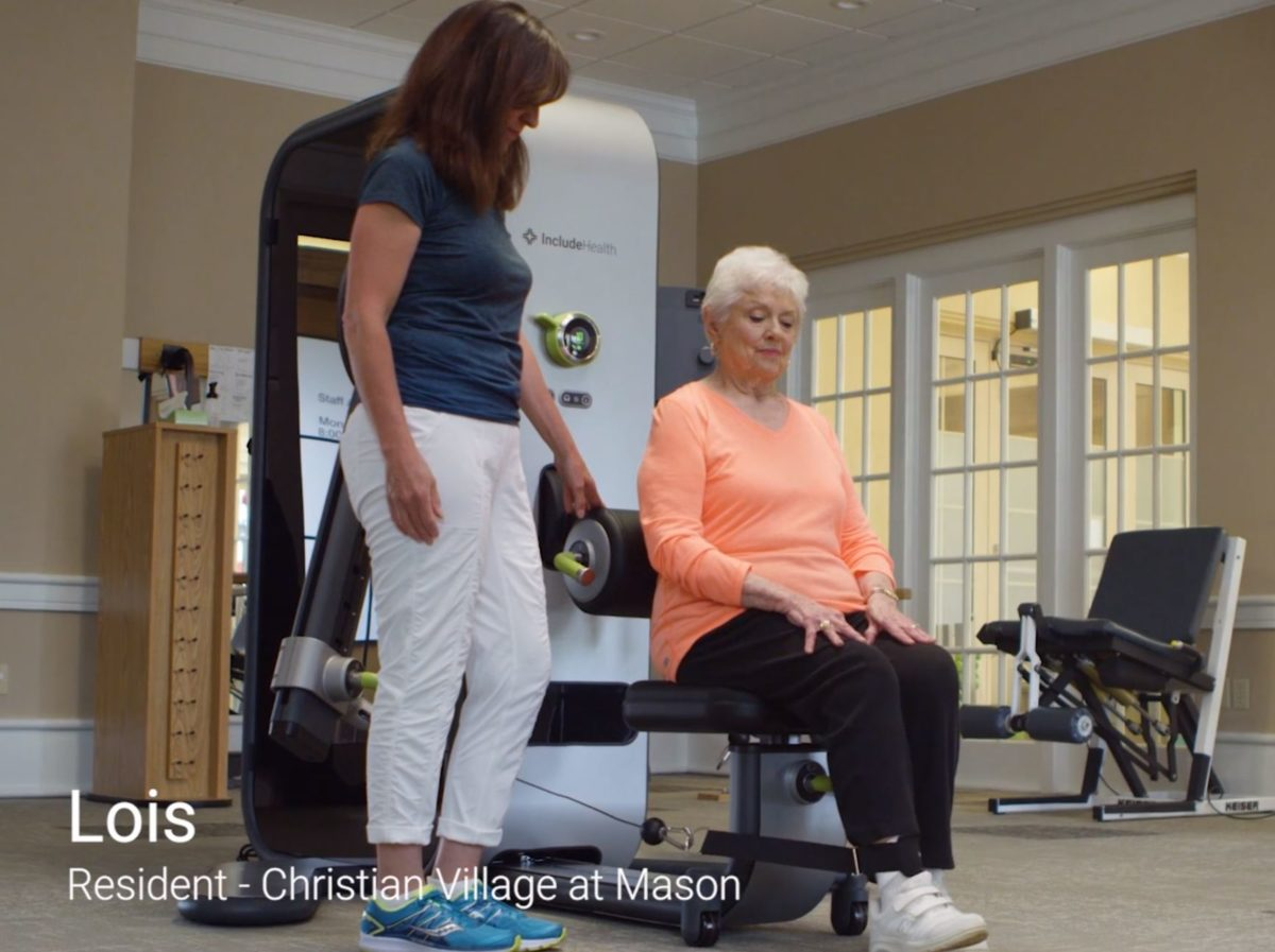 We're proud to offer Access Strength to improve the lives of our Christian Village at Mason residents